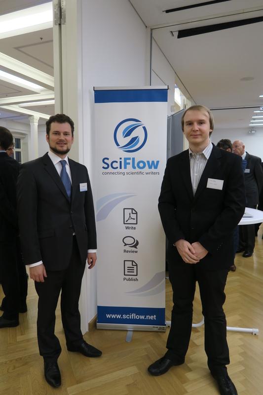 Das Gründerteam von SciFlow - diesmal leider leer ausgegangen